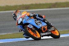 Moto3 - Oliveira am Samstagmorgen Schnellster