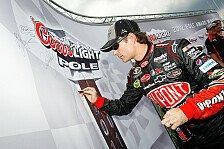 NASCAR - Aric Almirola steht in Talladega auf Startplatz vier: Superspeedway-Pole f�r Jeff Gordon