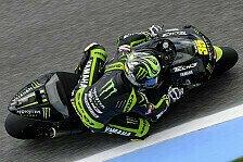 MotoGP - Crutchlow mit Bestzeit im Warm-Up