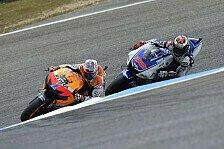 MotoGP - Pedrosas Sturz sorgt f�r WM-Vorentscheidung: Stoner holt sich Heimsieg, Lorenzo den Titel