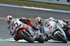 MotoGP - Nach und nach verbessern: Pasini trotz Sturz gl�cklich