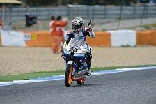 Moto3 - Vinales in Training 3 klar voran