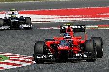 Formel 1 - Rookie zufrieden, Teamchef begeistert: Pic: Nicht bei 100 Prozent