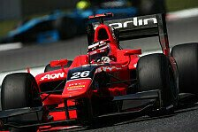 GP2 - Von der Bestzeit ins Kiesbett: Chilton schnappt sich die Pole in Monza