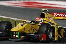 GP2 - Endlich zur�ck auf dem Podium: Felipe Nasr