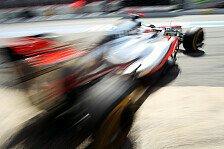 Formel 1 - Zur Zeit ist es wirklich komisch: F�r Button sind die Reifen der Schl�ssel