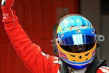 Formel 1 - Alonso strahlt über Position drei