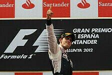 Formel 1 - Du spinnst doch: Frank Williams: Den Sieg hatten wir echt n�tig