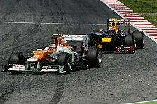 Formel 1 - Fehlende Pace gibt R�tsel auf: Webber: Mysteri�se Red-Bull-Frontfl�gel