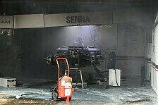 Formel 1 - Chaos im Fahrerlager: Nach dem Sieg: Feuer in Williams-Box