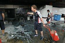 Formel 1 - Brutale Situation: Wurz: Feuer war blitzschnell
