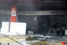 Formel 1 - Blitzschnell ausgebreitet: Was geschah beim Williams-Feuer?
