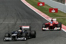 Formel 1 - Kampf um den Sieg: Video - Barcelona 2012: Maldonado vs. Alonso