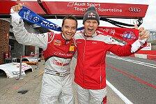 DTM - Deutschland macht das Rennen: Das DTM-Fahrerlager im Fu�ball-Fieber