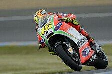 MotoGP - Rossi und Hayden fehlte der Grip