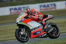 MotoGP - Ducati-Test in Mugello endet erfolgreich