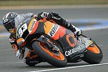 Moto2 - Regen stoppt Polesetter nicht: Marquez Schnellster in Moto2-Warm-Up