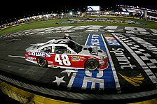 NASCAR - Dritter Sieg f�r Johnson beim All-Star Race: Jimmie Johnson gewinnt 1 Million US-Dollar