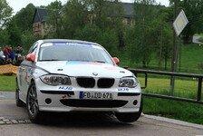DRM - Platzverbesserung bei der Sachsen Rallye: Maurice Moufang schon auf Platz 4