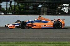IndyCar - Testunfall in Mid-Ohio: Kimball an der Hand verletzt
