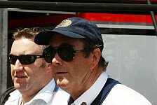Formel 1 - Ort gro�er Erfolge: Nigel Mansell Fahrer-Steward in Silverstone
