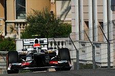 Formel 1 - Sergio Perez startet doch von ganz hinten