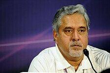 Formel 1 - Vijay im Visier der Politik: Force India spielt Mallya-Probleme herunter