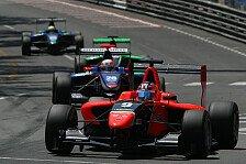 GP3 - Daly nach Horrorcrash unverletzt: Suranovich nach schwerem Unfall disqualifiziert