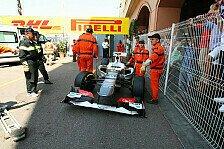 Formel 1 - Perez: Schon wieder Unfall in Monaco