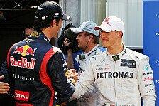 Formel 1 - Michael ist in den allerbesten H�nden: Video: Webber �ber Schumacher-Drama