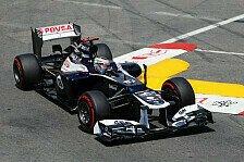 Formel 1 - Wegen Kollision mit Perez: Maldonado wird 10 Pl�tze zur�ckversetzt