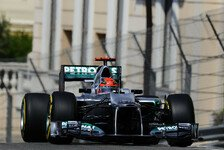 Formel 1 - Problem mit der Benzinzufuhr: Schumacher in Monaco erneut mit Pech