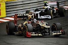 Formel 1 - Boullier gibt Zusammenh�nge zu: Lotus: Bolide wetterempfindlich?
