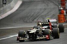 Formel 1 - Gute Traktion, wenig Verschlei�: Alguersuari: Lotus noch immer Favorit