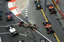 Formel 1 - Im letzten wie im ersten Rennen: Villeneuve sieht keinen Grosjean-Fortschritt