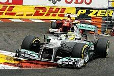 Formel 1 - Man kann nicht �berholen: Alonso: Mercedes in Monaco der Favorit