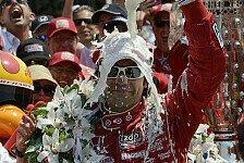 IndyCar - So nah dran wie nur m�glich: Indy 500: Franchitti pilotiert das Pace Car