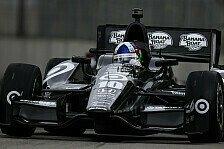 IndyCar - Zwei Mechaniker von Wilson verletzt: Franchitti toppt Toronto-Training