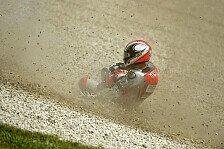 MotoGP - Rennen h�tte positiv sein k�nnen: Pasini st�rzte aus Gutm�tigkeit