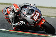 MotoGP - V�llig andere Ioda-Maschine: Pasini experimentierte mit dem Fahrwerk