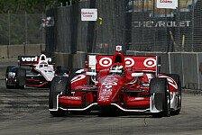 IndyCar - Zweimal Ganassi an der Spitze: Franchitti im Abschlusstraining vor Dixon