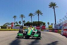 IndyCar - Top-10 sind das Ziel: Simona de Silvestro hofft auf Lotus-Upgrade