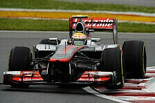 Formel 1 - 1. Training: Hamilton fährt Bestzeit