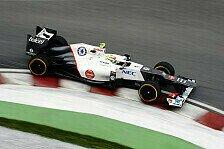Formel 1 - Sauber: Angriff auf die Punkteränge