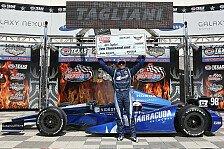IndyCar - Sehen mittlerweile richtig stark aus: Tagliani startet in Texas von vorne