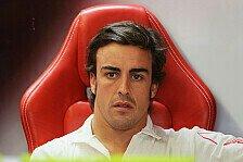 Formel 1 - Man kann schneller verlieren als gewinnen: Alonso: WM-Chancen einiger Gegner schwinden