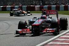 Formel 1 - Unterschiede liegen in den Feinheiten: McLaren: Problem an Buttons Auto gefunden?