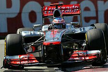 Formel 1 - Button: WM-Titel nicht abgeschrieben