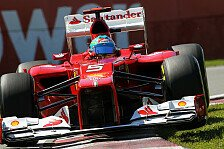 Formel 1 - Ferrari: Fortschritt begeistert Alonso