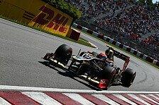 Formel 1 - Grosjean spricht übers Reifenflüstern